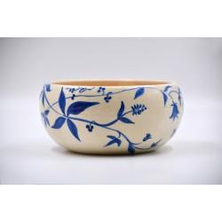Bol ceramică pentru fructe - Cobalt, 18 cm