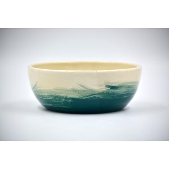 Bol ceramică pentru cereale - Blue Lagoon, 15 cm