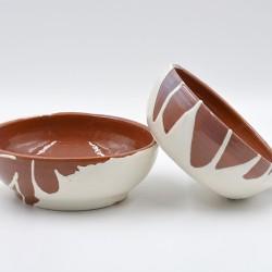 Boluri ceramică pentru supă (set 2), 14 cm, 16 cm