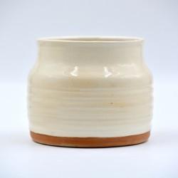 Suport ceramică ustensile bucătărie Alb, 12 x 12 cm