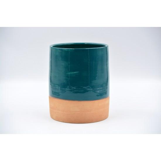 Suport ceramică ustensile bucătărie Blue Lagoon, 16 x 13 cm