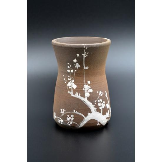 Vas ceramică decorativ - Sakura, 12 x 7 cm