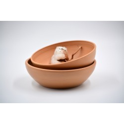 Boluri ceramică Teracota (set 2), 15 cm