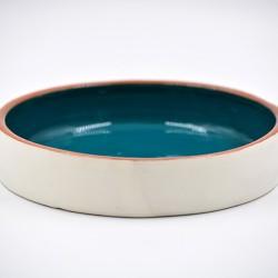 Farfurie ceramică Blue Lagoon, 20 cm