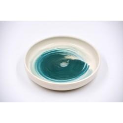 Farfurie ceramică Blue Lagoon, 23 cm