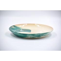 Farfurie ceramică Blue Lagoon, 21 cm