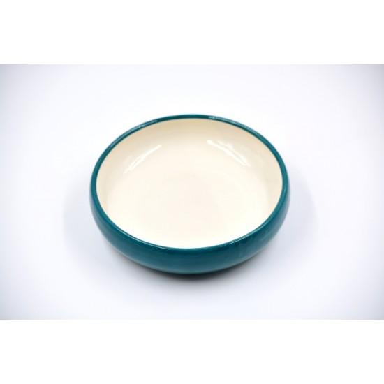 Farfurie ceramică Blue Lagoon, 18 cm