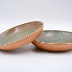 Farfurii ceramică Teracota - Ceylon (set 2), 22 cm