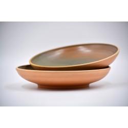 Farfurii ceramică Teracota - Ceylon (set 2), 20 cm