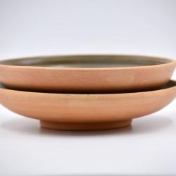 Farfurii ceramică Teracota - Ceylon (set 2), 19 cm