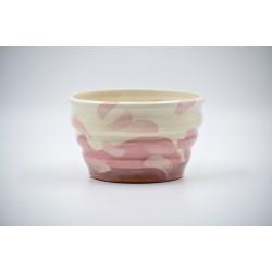 Ghiveci mască ceramică, 15 x 9 cm
