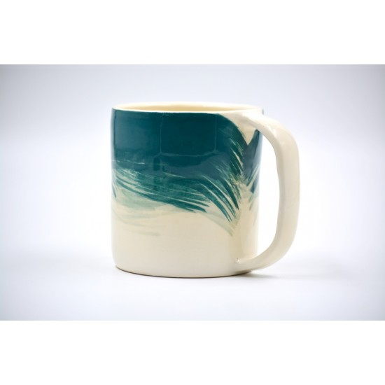 Cană ceramică Blue Lagoon, 300 ml