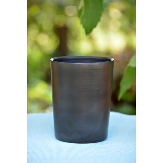 Suport ceramică neagră ustensile de scris, 10 x 13 cm