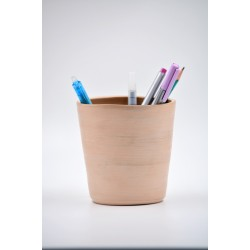 Suport ceramică ustensile de scris, 13 x 11 cm