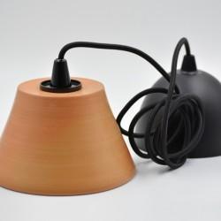 Abajur ceramică teracota - Lampă suspendată, 16x9 cm