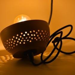 Abajur ceramică teracota - Lampă suspendată, 16x8 cm