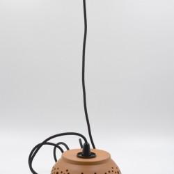 Abajur ceramică teracota - Lampă suspendată, 18x9 cm