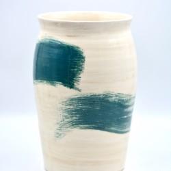 Vază ceramică - Blue Lagoon, 25 cm
