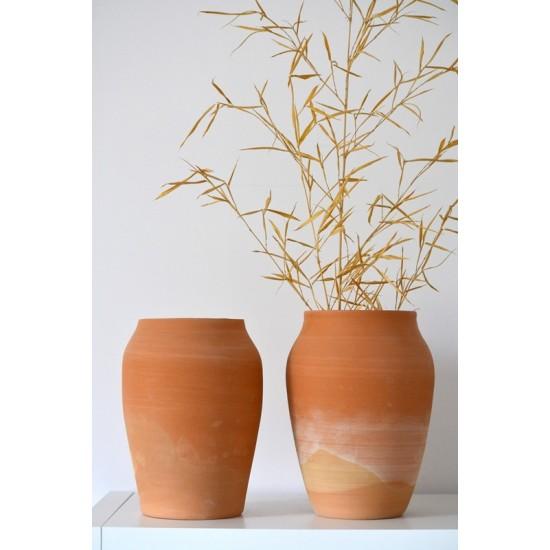 Vază ceramică decorativă Teracota, 28 cm