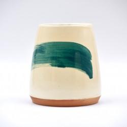 Vază ceramică mică - Blue Lagoon, 13 cm